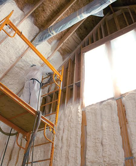 How Does Spray Foam Insulation Work?